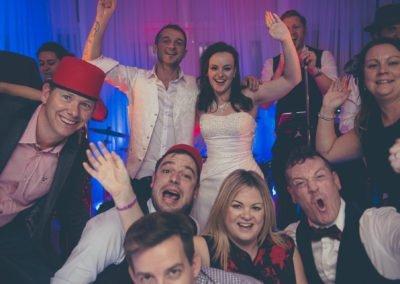 group Wedding Band Chilston Park