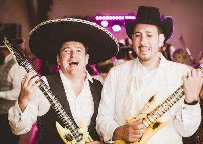 Kent Wedding Band two guitarists