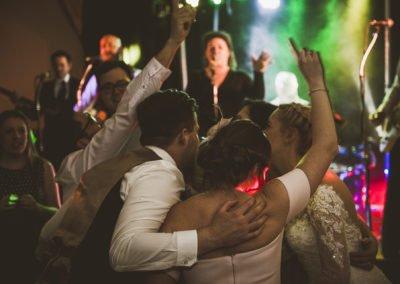 Kent wedding band winters barns