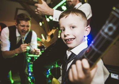 Kent wedding band winters barns go man