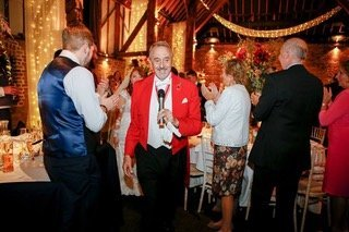 weeding dinner and toastmaster cooking barn