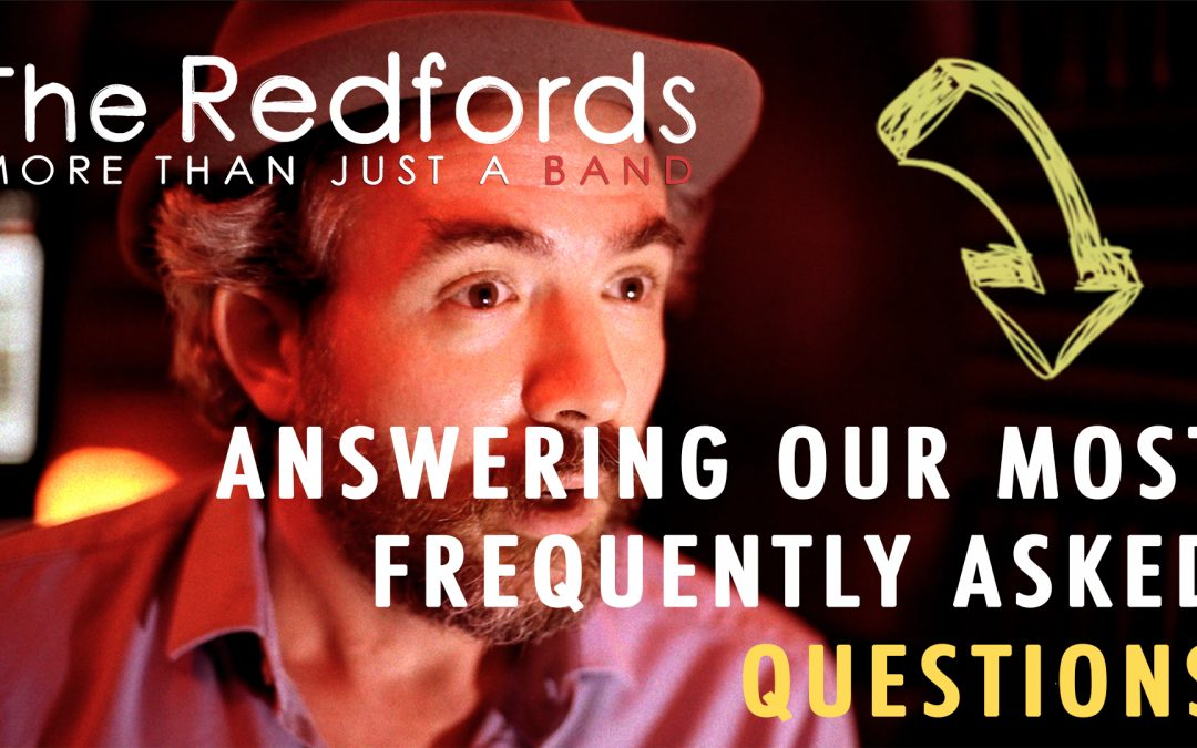 Top 10 Most Frequently Asked Questions | The Redfords Wedding Band
