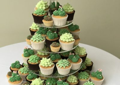tiered kent buttercream cakes