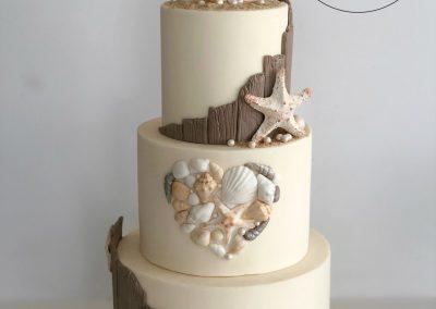 East Quay wedding cake